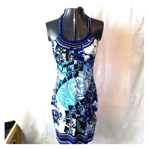 Cache Dresses - Cache halter dress size 4